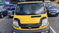 Мухобойка на капот Opel Vivaro 1 до краёв капота