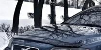 Мухобойка на капот Вольво S60