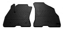 Резиновые коврики Фиат Добло 2 (комплект передних ковриков в салон Doblo 2)