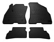 Резиновые коврики Fiat Doblo 2 (грязезащитные коврики Фиат Добло 2)