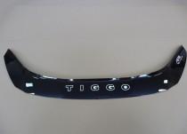 Мухобойка на капот Чери Тигго Т11 (рестайлинг)