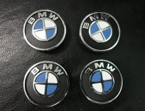 Колпачки в титановые диски БМВ внутренний размер 55мм