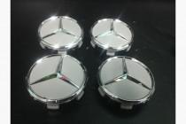 Колпачки в оригинальные диски Mercedes диаметр 71мм