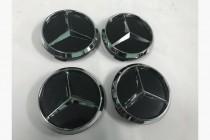 Колпачки в диски для Mercedes размерность 55мм
