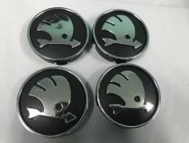 Колпачки в обычные диски Skoda диаметр 55мм
