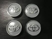 Колпачки в титановые диски Toyota диаметр 55мм