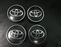 Заглушки в литые диски Тойота с размерностью 55мм