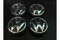 Колпачки в титановые диски Volkswagen диаметром 56 мм