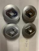 Колпачки в титановые диски Рено размерностью 50 на 57мм