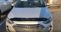 Мухобойка на капот Hyundai Elantra 6 AD