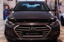 Мухобойка Hyundai Elantra 6 длинная