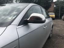 Хромированные накладки зеркал на Audi A3 8P рестайлинг