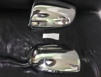 Хромированные накладки на зеркала Ауди А4 Б6