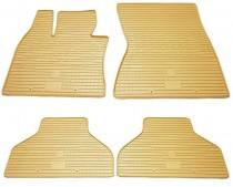 Бежевые коврики на BMW X5 E70 комплект 4шт