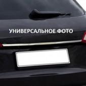 Хром накладка над номером Ауди А4 Б9 седан