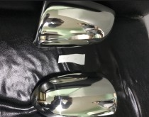 Хром накладки на зеркала Ауди А6 С6