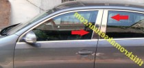 Omsa Line Хромированные молдинги дверных стоек BMW 3 F30
