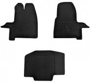 Резиновые коврики Форд Транзит Кастом комплект 3шт