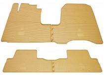 Бежевые коврики Honda Cr-V 3 комплект премиум