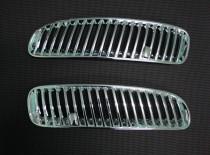 Хром накладки на воздухозаборники БМВ Х5 Е53
