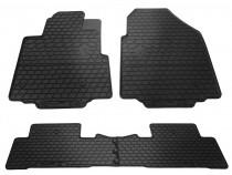 Резиновые коврики Honda Pilot 2 стиль премиум