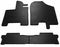 Резиновые коврики Хонда Пилот 3 черные