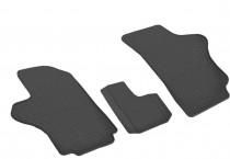 Резиновые коврики Hyundai Starex H100 комплект 3шт