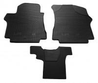 Резиновые коврики Хендай Н1 комплектация 2 сидения