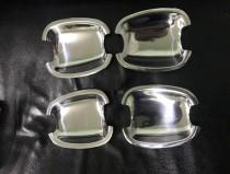 Хромированные мыльницы под ручки Шевроле Авео Т250