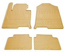 Бежевые коврики в салон Hyundai Sonata LF дизайн премиум