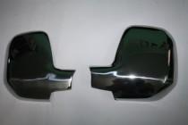 Хром накладки на зеркала Ситроен Берлинго 2 метал
