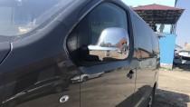 Хром накладки на зеркала Ситроен Джампи 3