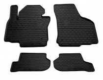 Резиновые коврики Сеат Леон 2 (коврики в салон Seat Leon 2)