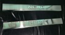 Защитные накладки порогов Ситроен Немо