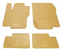 Бежевые коврики Мерседес ML 164 комплект 4шт