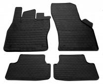 Резиновые коврики Шкода Октавия А7 (автомобильные коврики Skoda Octavia A7)