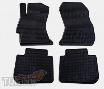 Резиновые коврики Subaru XV (фото ковриков салона Субару XV)