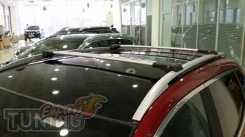 Модельные поперечины на Renault Sandero 2