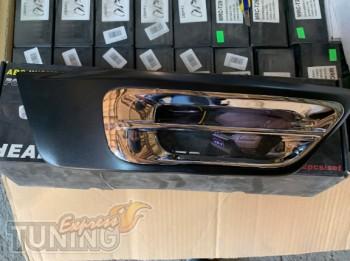 Хром накладки на противотуманные фары Хонда СРВ 2