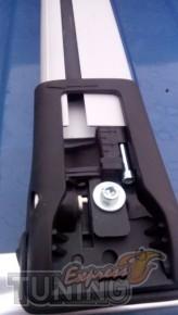 Установка поперечин на крышу Fiat Palio