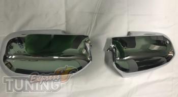 Хром накладки на зеркала Хонда Цивик 7 седан