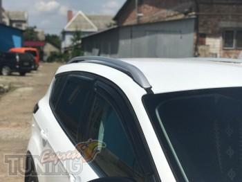 Комплект алюминиевых рейлингов на крышу Форд Куга 2 поколения