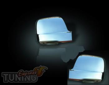 Хромированные накладки на зеркала Хендай Н1