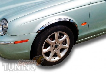 Хром накладки на арки Jaguar X-Type
