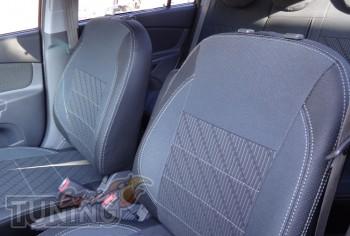 Чехлы в салон Киа Рио 2 (купить авточехлы на сиденья Kia Rio 2)