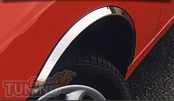 Хром накладки на арки Мерседес W212