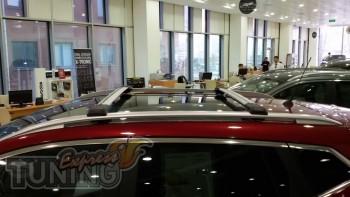 Установка поперечных рейлингов для Hyundai Tucson 2004-2012