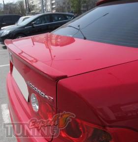 Спойлер на крышку багажника Хонда Аккорд 7