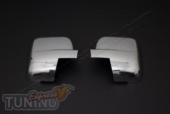 Хром накладки на зеркала Nissan NV300