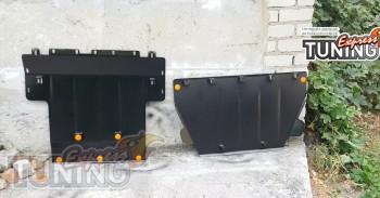 Защита картера Chevrolet Bolt радиатора и КПП